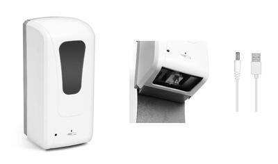Automatický dávkovač mydla a dezinfekčného prostr.