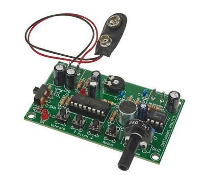 Stavebnica - Elektronický menič hlasu MK171