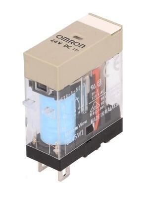 Relé G2R-1-S 24VDC 24VDC 10A/250VAC 2500VA