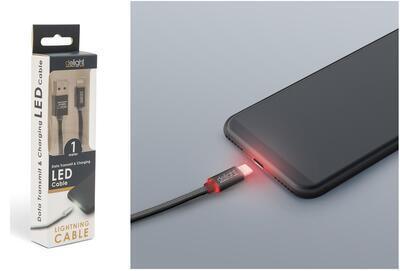 "USB kábel iPhone ""lightning"" 55442I-BK"