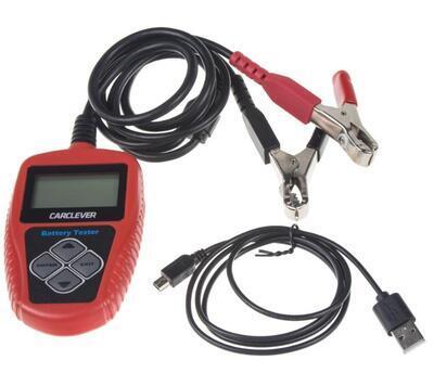 Tester akumulátorov 3v1 s možnosťou tlače